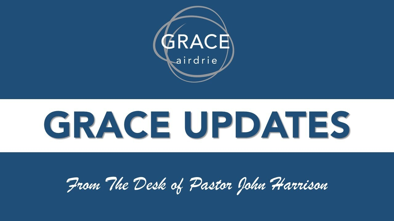 Header Image for Grace Update - March 26, 2020