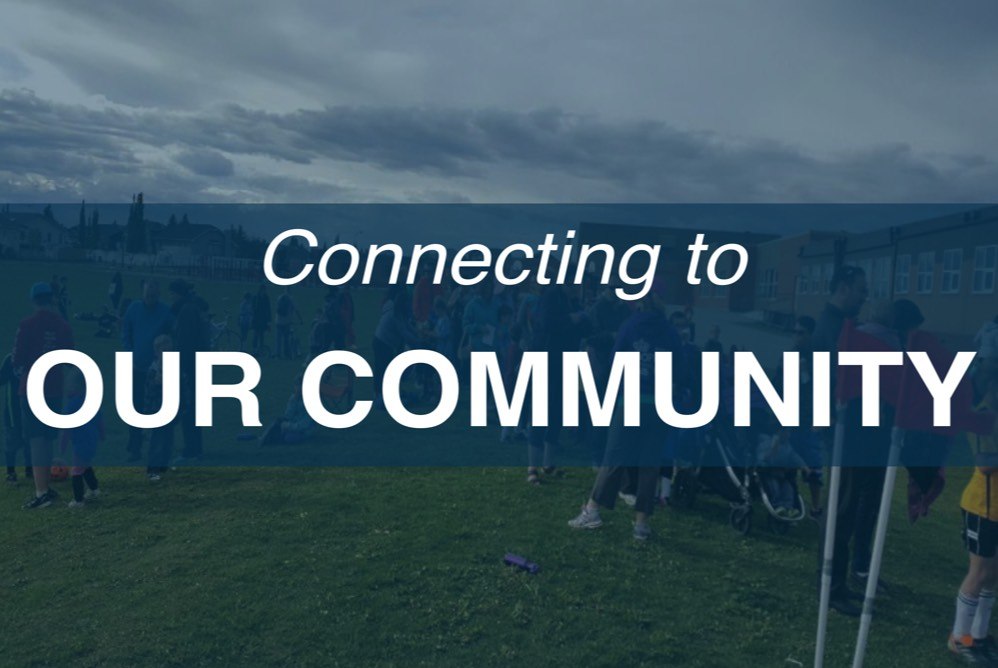 Home Page Icons - Connecting to Our Community