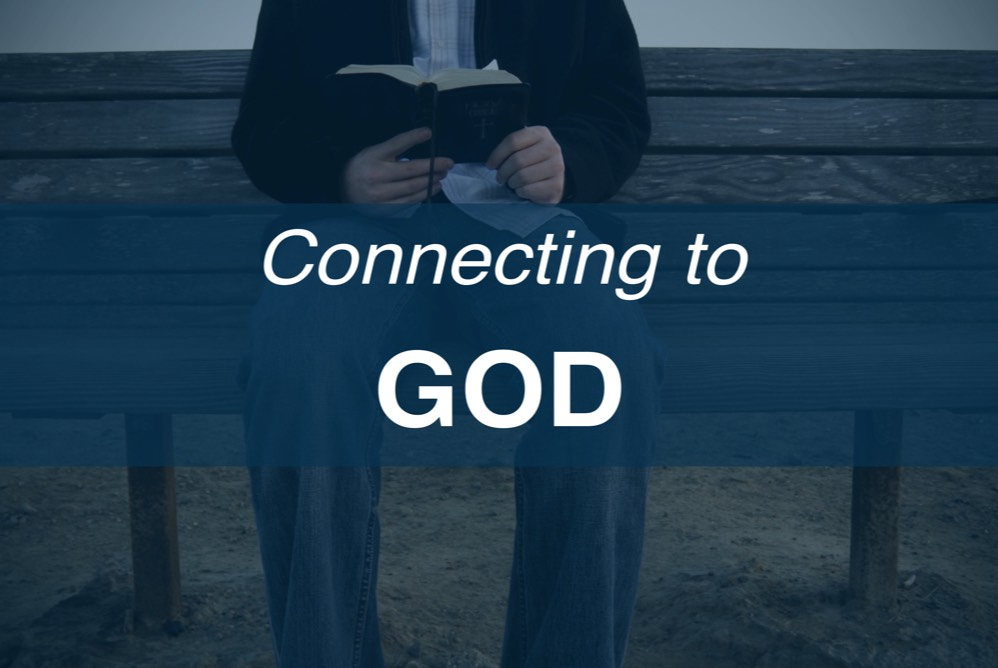 Home Page Icons - Connecting to God Blue Rev