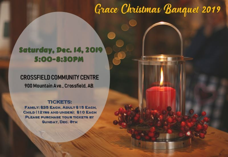 Header Image for Grace eNewsletter - DEC. 4, 2019